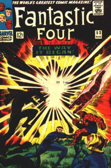 Fantastic Four 53 - Jack Kirby
