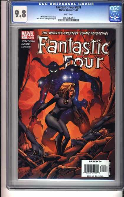 Fantastic Four 531 - Cgc Universal Grade - Marvel - The Worlds Greatest Comic Magazine - Rated - Mckone - Mike McKone