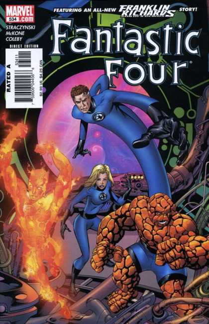 Fantastic Four 534 - Mike McKone