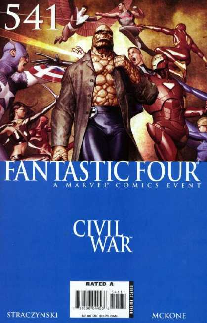Fantastic Four 541 - Marvel - Costumes - Mutant - Battle - Wings - Adi Granov