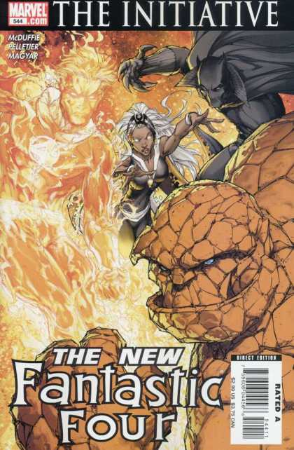 Fantastic Four 544 - Michael Turner