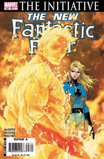 Fantastic Four 547 - Michael Turner