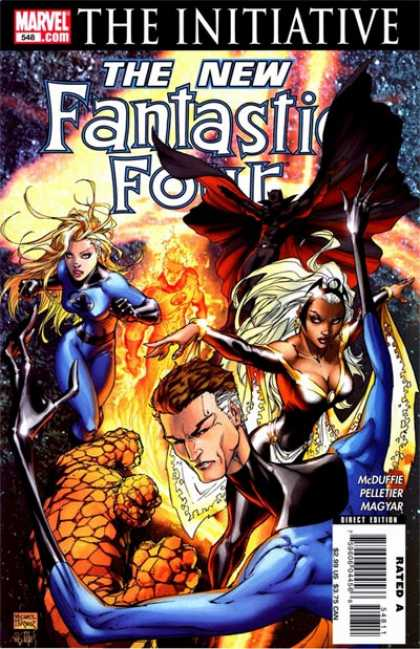 Fantastic Four 548 - Michael Turner