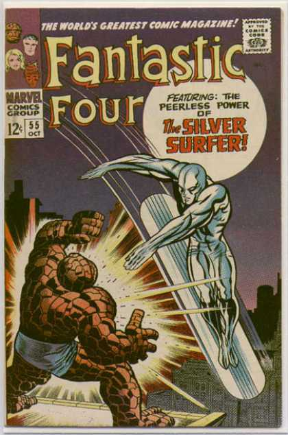 Fantastic Four 55 - Jack Kirby