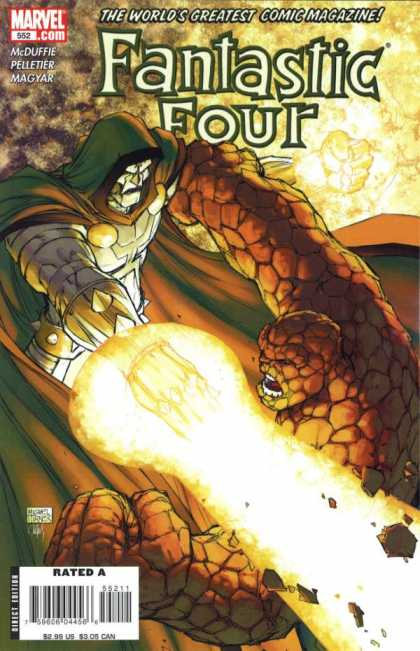 Fantastic Four 552 - Michael Turner