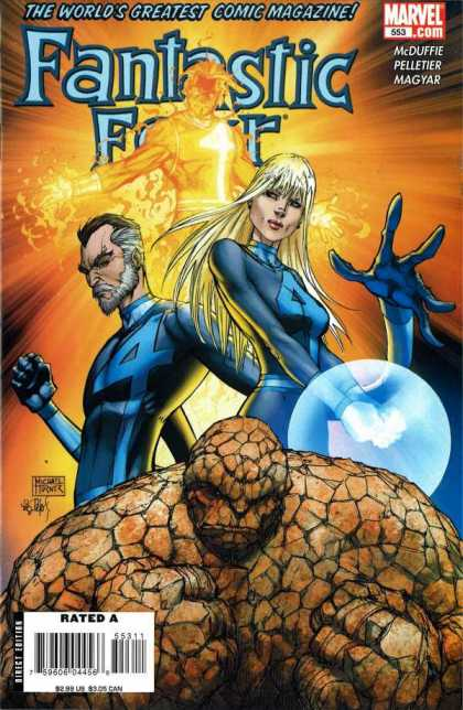 Fantastic Four 553 - Michael Turner