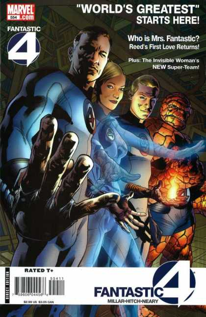 Fantastic Four 554 - Bryan Hitch