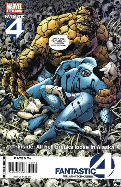 Fantastic Four 556 - Bryan Hitch