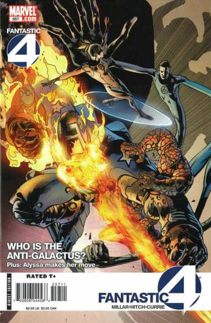 Fantastic Four 557 - Bryan Hitch