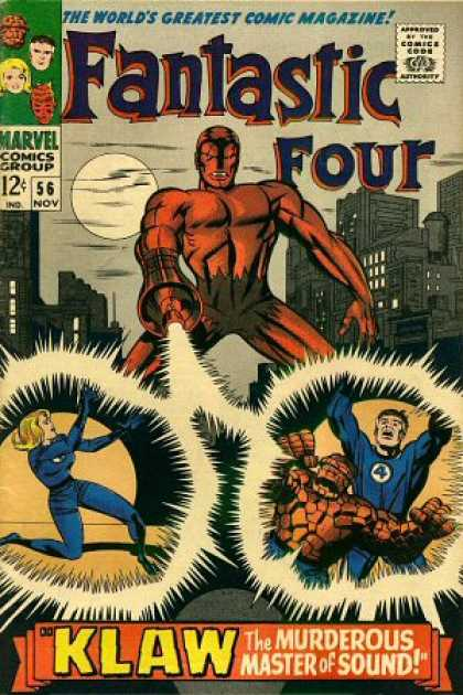 Fantastic Four 56 - Jack Kirby