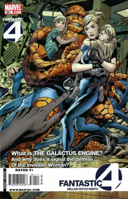 Fantastic Four 561 - Bryan Hitch