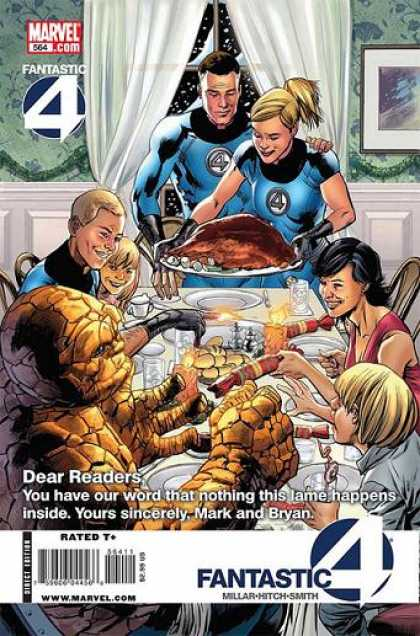 Fantastic Four 564 - Bryan Hitch