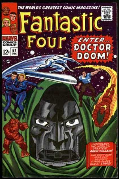Fantastic Four 57 - Jack Kirby