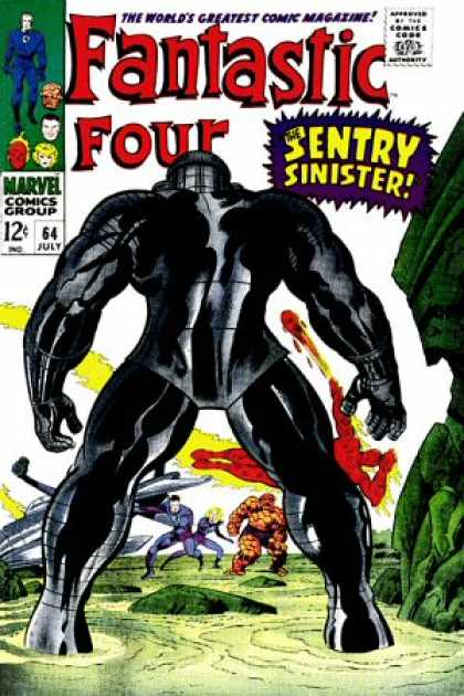 Fantastic Four 64 - Jack Kirby