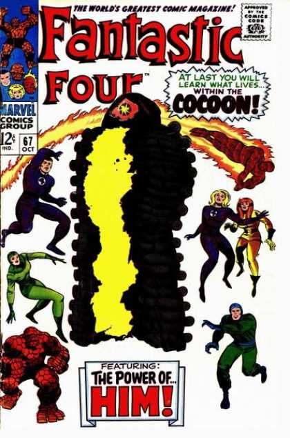 Fantastic Four 67 - Jack Kirby