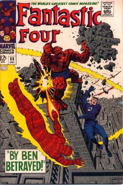 Fantastic Four 69 - Jack Kirby