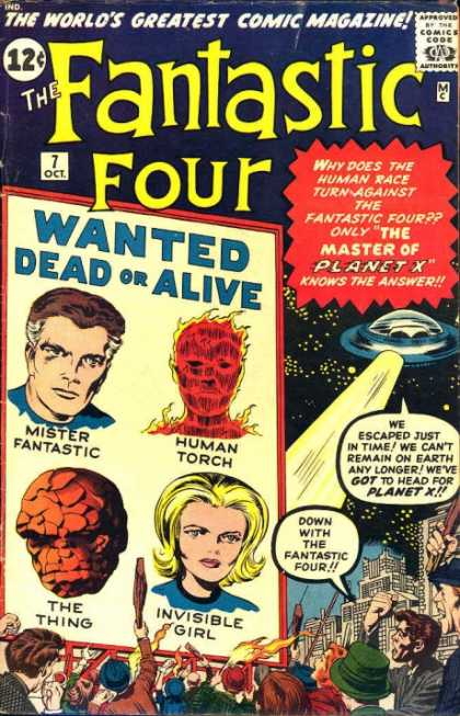 Fantastic Four 7 - Fire - Dick Ayers, Jack Kirby