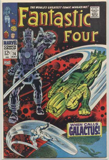 Fantastic Four 74 - Silver Surfer - Jack Kirby