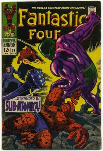 Fantastic Four 76 - Jack Kirby