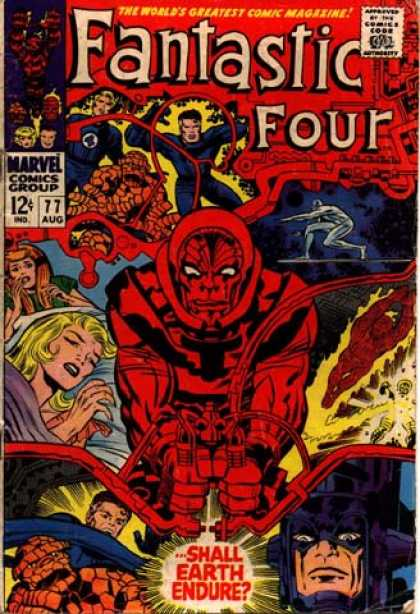 Fantastic Four 77 - Jack Kirby