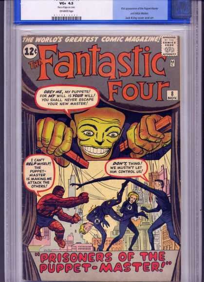Fantastic Four 8 - Dick Ayers, Jack Kirby