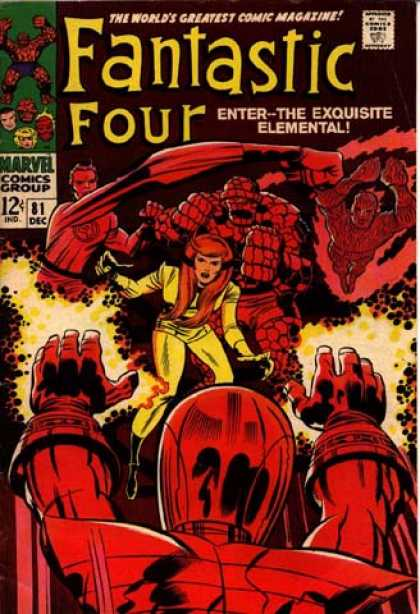 Fantastic Four 81 - Jack Kirby
