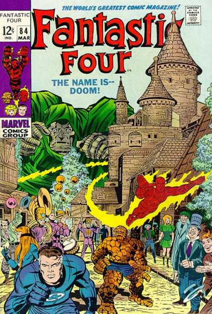 Fantastic Four 84 - Thing - Jack Kirby
