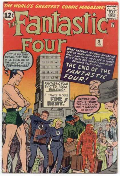 Fantastic Four 9 - Dick Ayers, Jack Kirby