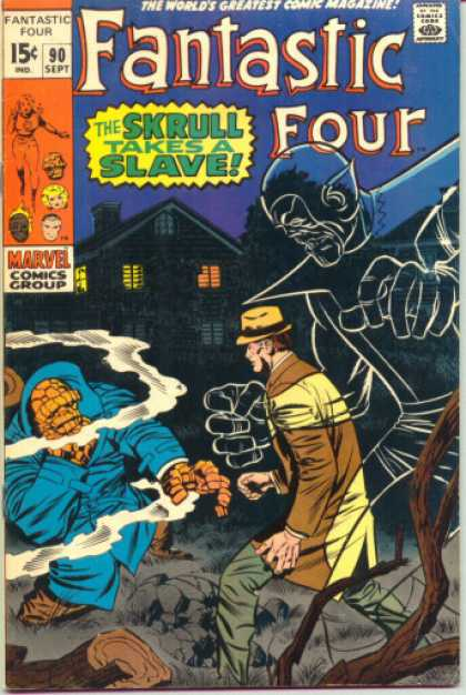 Fantastic Four 90 - Jack Kirby