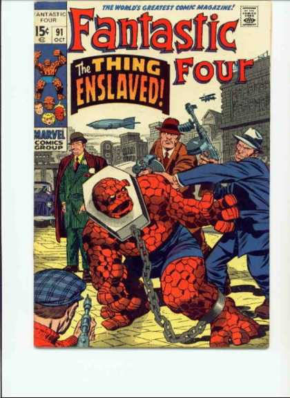 Fantastic Four 91 - Jack Kirby