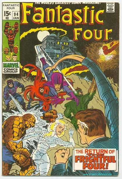 Fantastic Four 94 - Jack Kirby