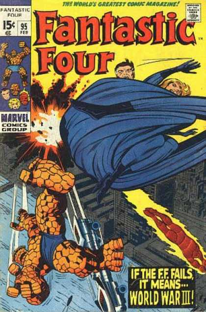 Fantastic Four 95 - Jack Kirby