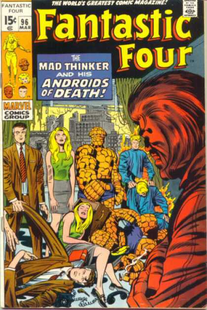 Fantastic Four 96 - Jack Kirby