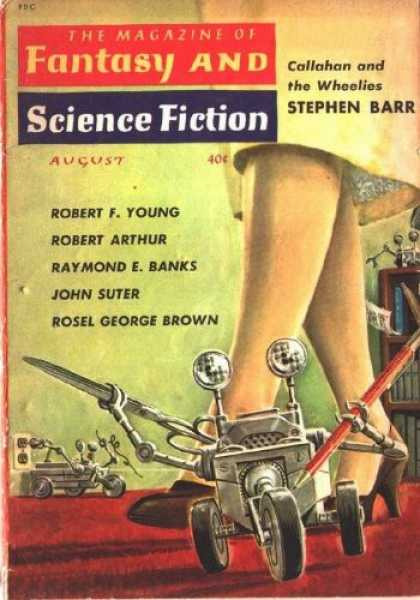 Fantasy and Science Fiction 111