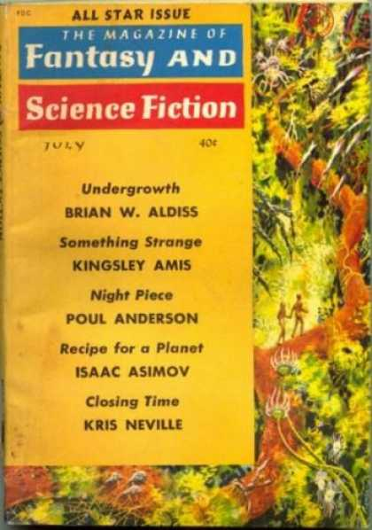 Fantasy and Science Fiction 122