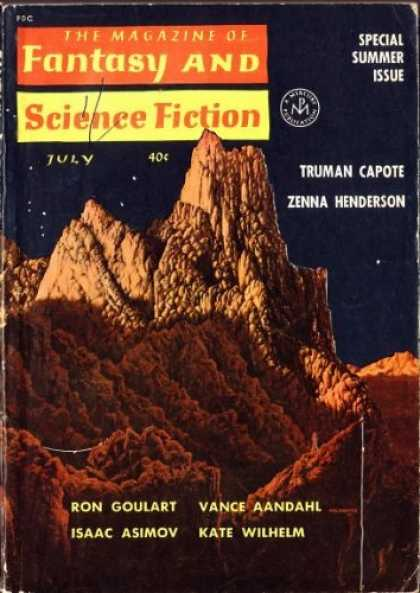 Fantasy and Science Fiction 134