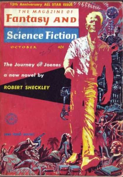 Fantasy and Science Fiction 137