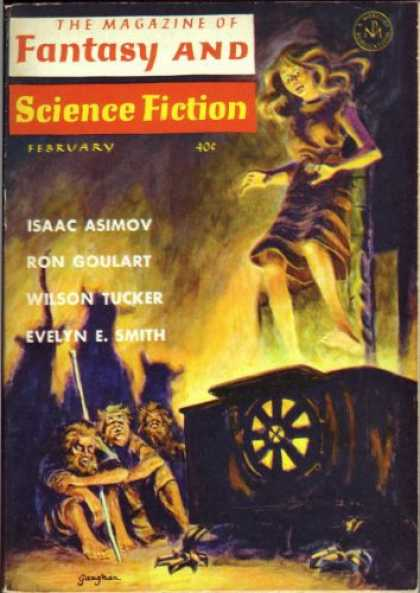 Fantasy and Science Fiction 153