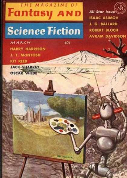 Fantasy and Science Fiction 154