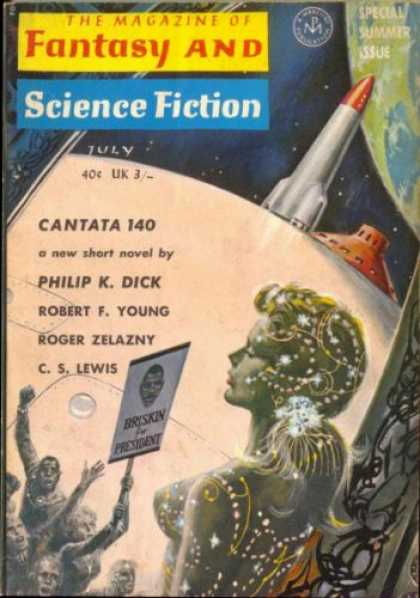 Fantasy and Science Fiction 158