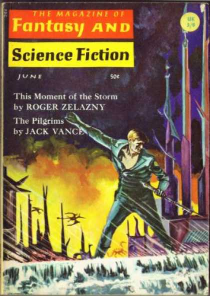 Fantasy and Science Fiction 181