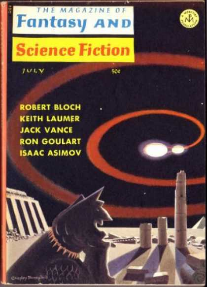 Fantasy and Science Fiction 182