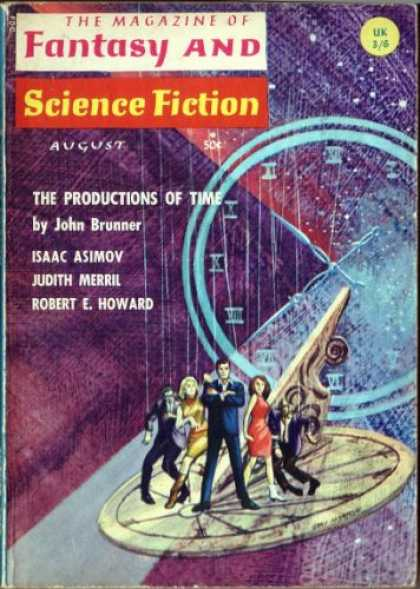 Fantasy and Science Fiction 183