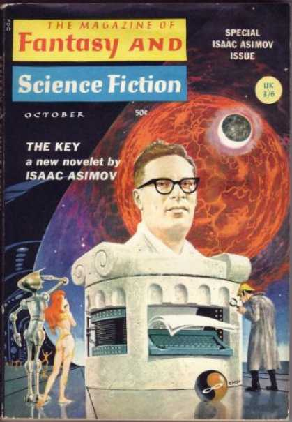 Fantasy and Science Fiction 185