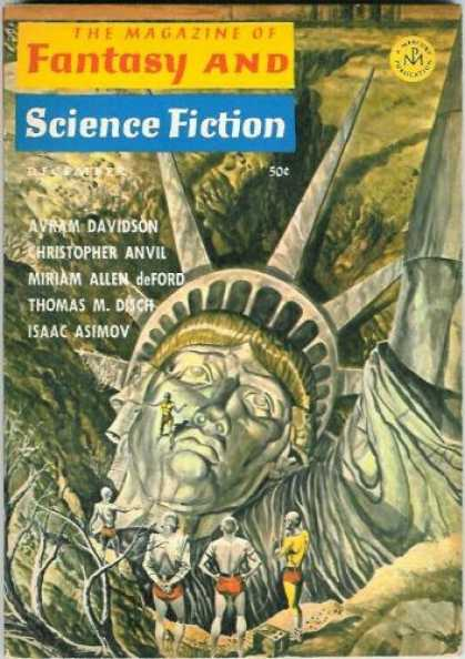 Fantasy and Science Fiction 187