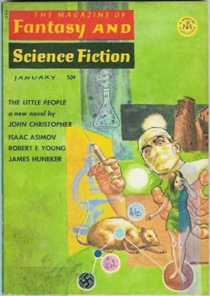 Fantasy and Science Fiction 188