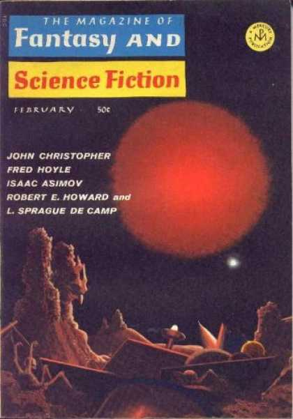 Fantasy and Science Fiction 189