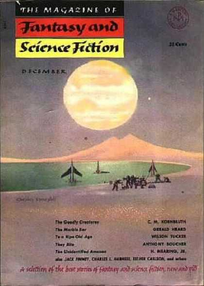 Fantasy and Science Fiction 19
