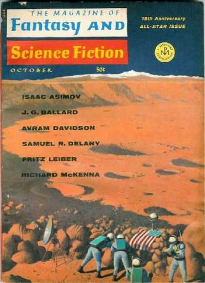 Fantasy and Science Fiction 197