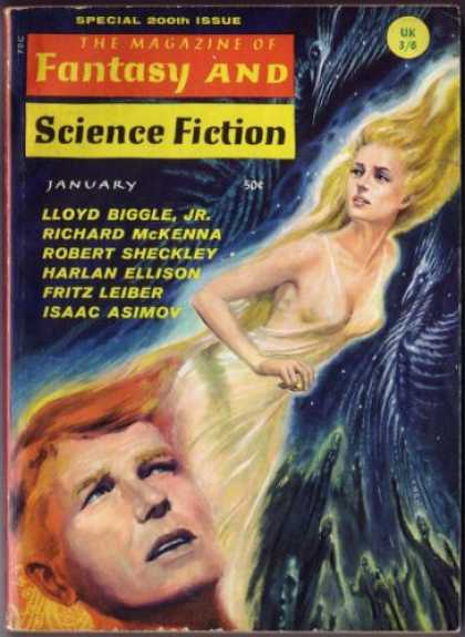 Fantasy and Science Fiction 200